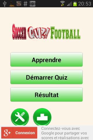 Soccer Quiz Football