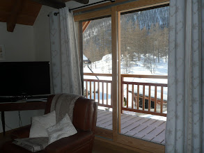 Photo: Appartement 1 - Terrasse/Balcon depuis le salon