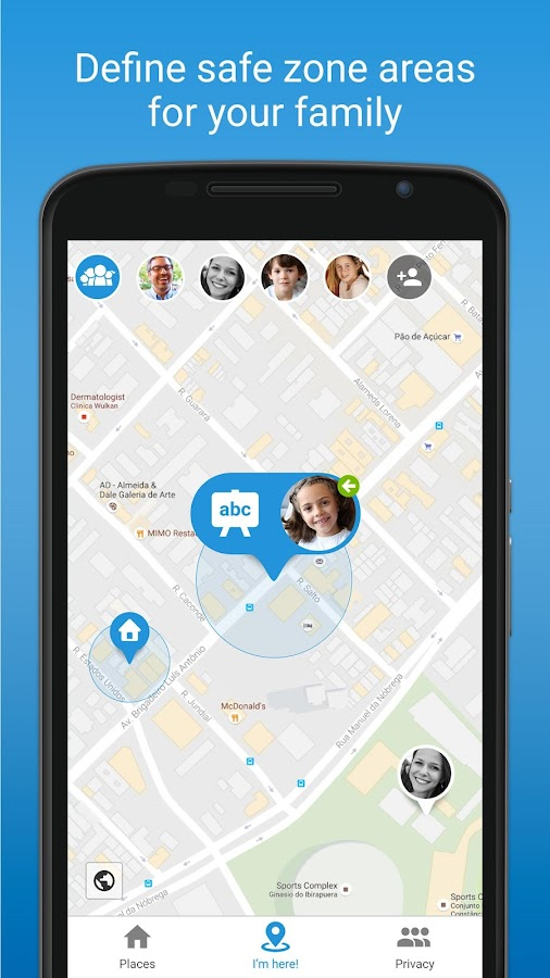 FamilyWall - Family Organizer & Locator- screenshot