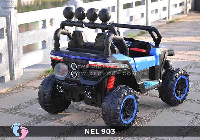 Xe ô tô điện địa hình NEL-903 4 động cơ 12