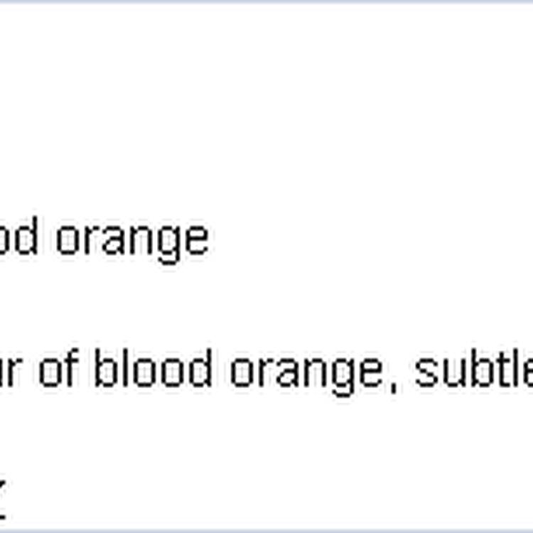 1883 BLOOD ORANGE SYRUP 1L