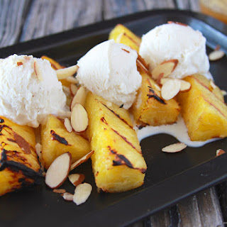 Grilled Pineapple ala Mode.