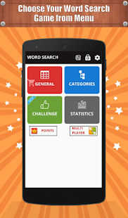 Word Search Game in English - náhled