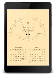 "PsPsClock ""Pointer"" - Music Alarm Clock & Calendar - náhled"