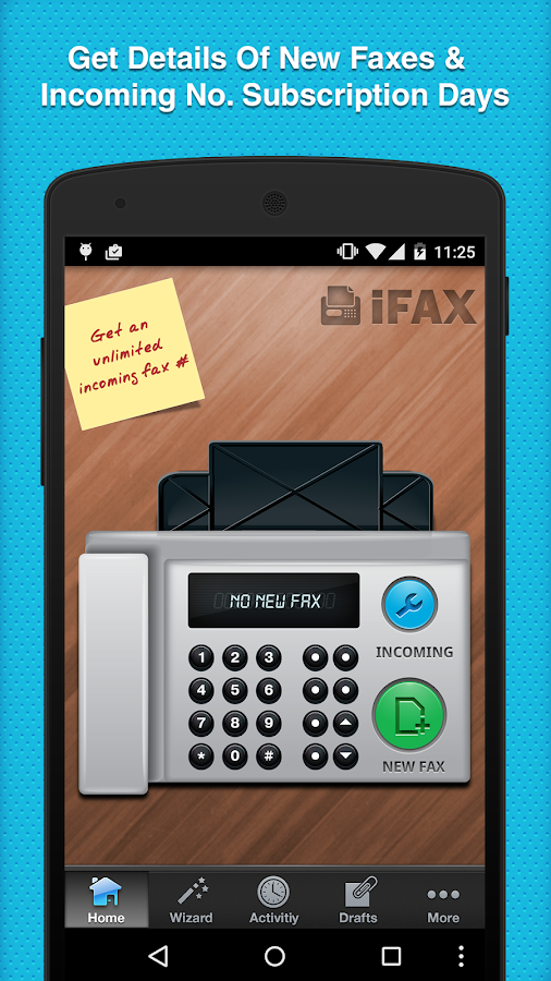 iFax - Send & Receive Faxes- screenshot