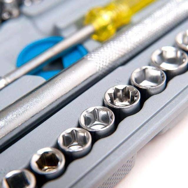 Bộ dụng cụ sửa chữa kết hợp 40 món đa năng AiWa