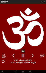 MEDITATE ॐ OM- screenshot thumbnail