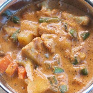 Mixed Vegetable Korma - Vegan and Gluten Free
