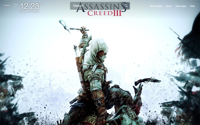 Assassins Creed Game Wallpapers Theme New Tab