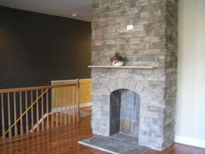 Photo: Stately fireplace in the living room
