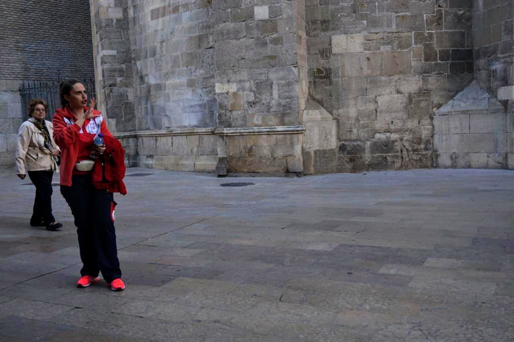 Alba, nuestra guía por la Ruta Histórica de Zaragoza