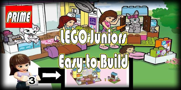 GuidePrime LEGO Juniors : Easy To Build - náhled