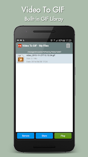 Video to GIF- screenshot thumbnail