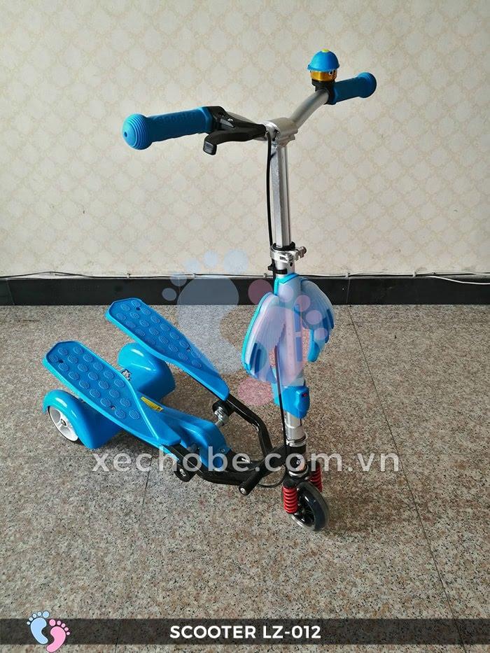 Xe trượt Scooter đạp chân LZ-012 có đèn, nhạc 5