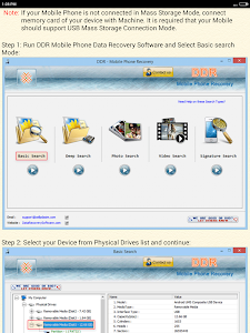 Mobile Phone Data Recovery HLP screenshot 6