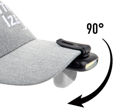 Nite Ize Radiant 170 Rechargeable Clip Light - Black alternate image 3