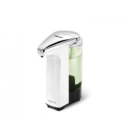 Sensorstyrd Tvålpump Simplehuman Vit Batteridriven 237 ml