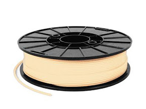 NinjaTek NinjaFlex Almond TPE Filament - 1.75mm