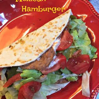 Mexican Hamburgers.