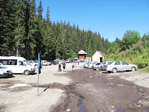 Photo: 08.Zaroślak (Заросляк, ok. 1200 m). Do parkingu dojeżdżają teraz tylko małe samochody osobowe i furgonetki.