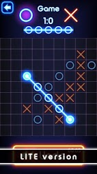 Tic Tac Toe glow - Free Puzzle Game APK screenshot thumbnail 11