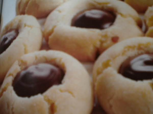 Chocolate Thumbprints Recipe