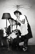 Photo: Arnold Weber, Maxine Stone, and Edith Markheim Stone