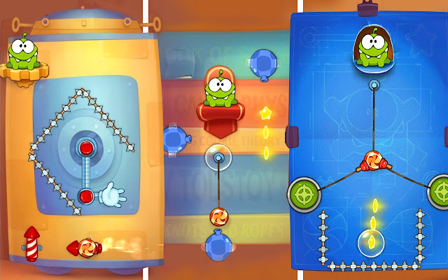 Cut the Rope: Experiments!