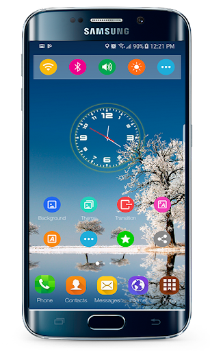 Launcher & Theme for Samsung Galaxy S9 Plus ss1