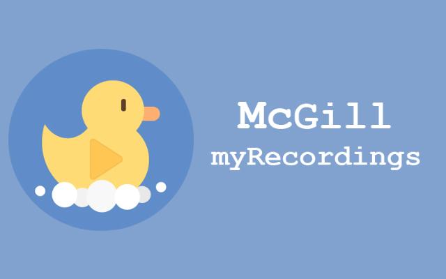 My Recordings