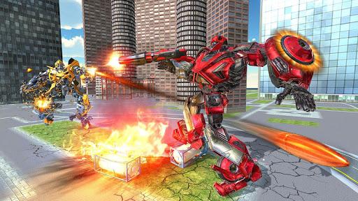 US Police Transform Iron Robot Spider Hero 1.0.3 screenshots 11