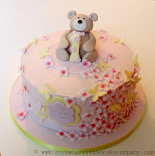 Photo: Buttercream Teddy Bear 1st Birthday Cake by Strawberry Lane Cake Company (6/23/2012) View cake details here:http://cakesdecor.com/cakes/19257