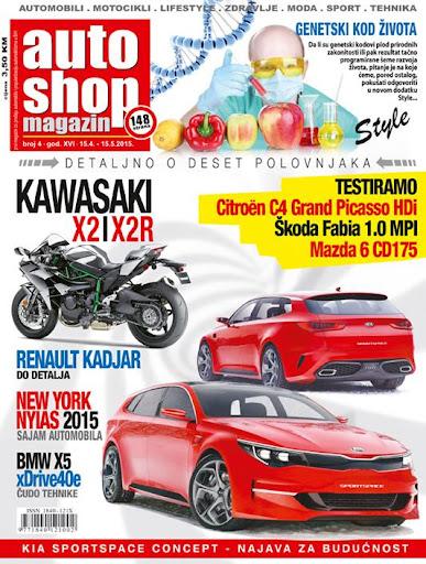 Auto Shop Magazin april 2015.