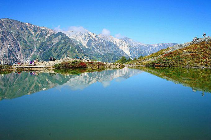 紅葉が始まる白馬八方池トレッキング(長野)
