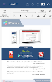 OfficeSuite + PDF Editor Screenshot 1
