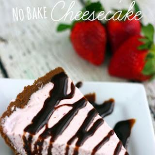Strawberry No Bake Cheesecake