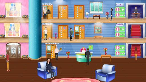 Code Triche Virtuelle un hôtel magnat manager: maison de luxe APK MOD (Astuce) screenshots 1
