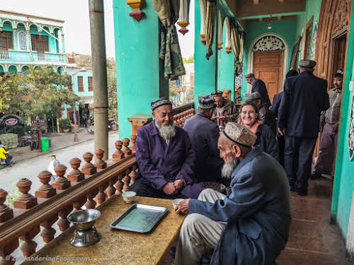 On the Silk Road: Kashgar Old City, China // One Hundred Tea House