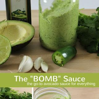 """""""Bomb"""" Sauce."""