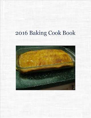 2016 Baking Cook Book