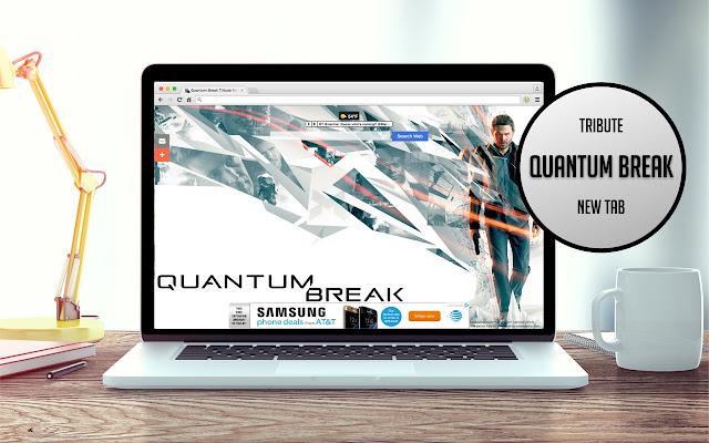 Quantum Break Tribute New Tab