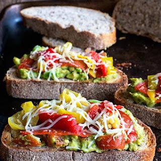 Lunchtime California Avocado Toast