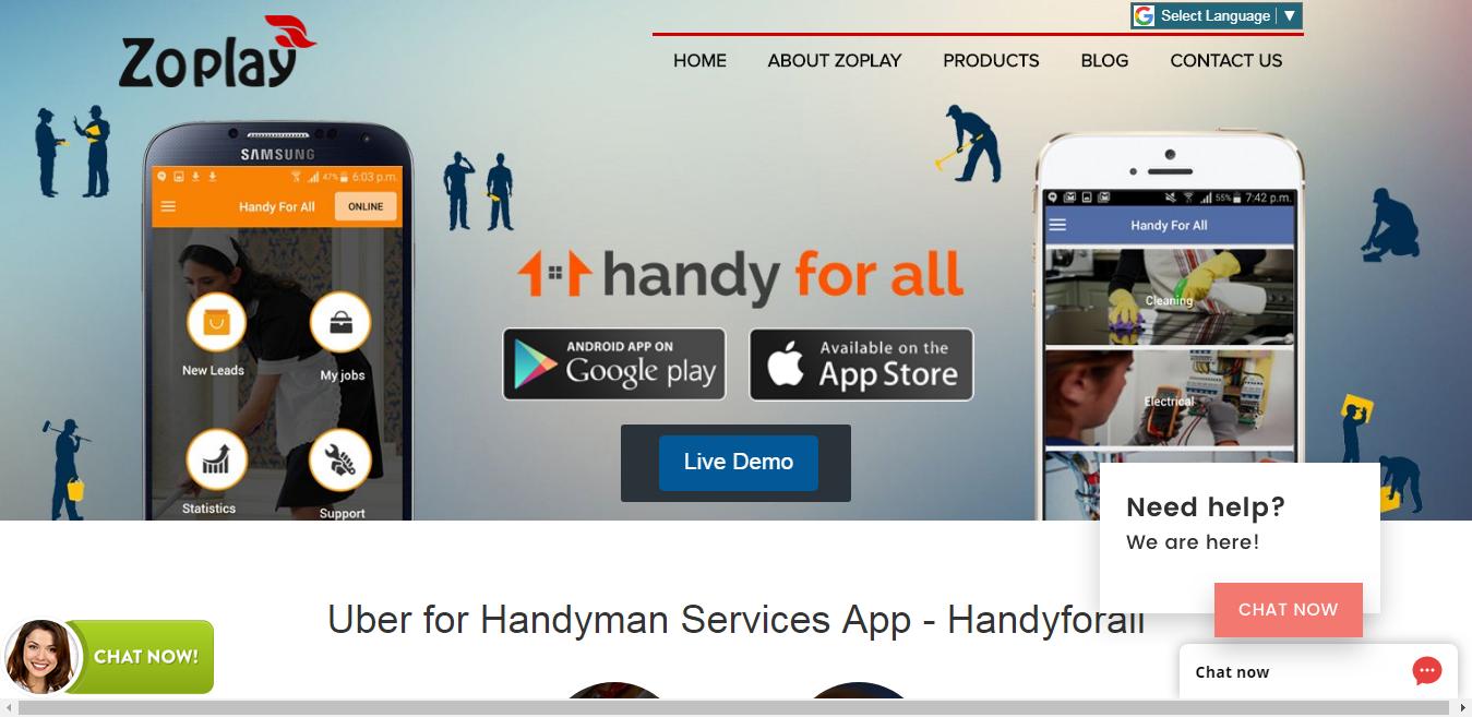 Top 10 Handyman App Scripts for your On Demand Handyman