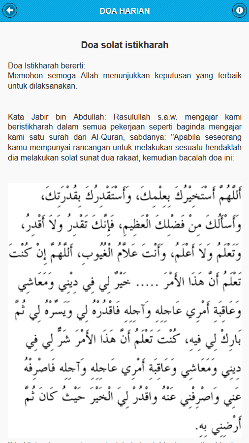 Doa Harian- screenshot