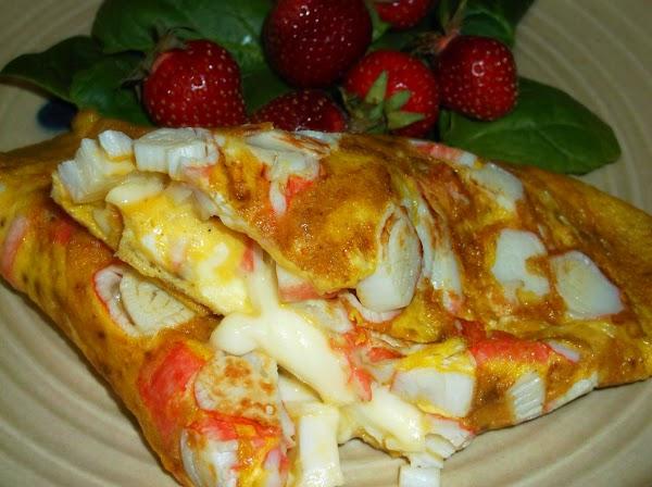Crabby Omelette Recipe