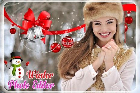 Winter Photo Editor & Winter Photo Frame - náhled