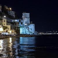 il mare calmo della sera  di