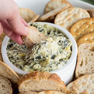 Spinach Artichoke Dip in the Pressure Cooker.