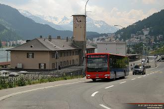 Photo: GR 15029 i Via Serlas, St. Moritz, 01.07.2010.