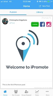 IPromote- screenshot thumbnail